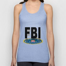 FBI Seal With Text Unisex Tank Top