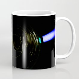 Stack of Compact Discs Abstract 5 Coffee Mug