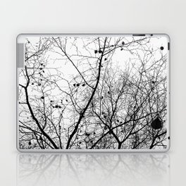 Nature in black and white Laptop & iPad Skin