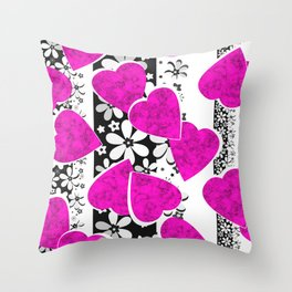 Holiday decor, holiday, Valentine's Day Throw Pillow