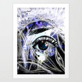 World eye Art Print