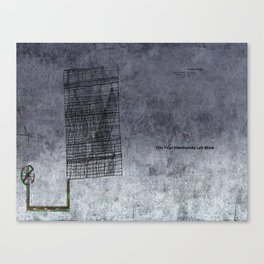 Bureaucratic inertia Canvas Print