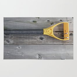 Yellow Handle Rug