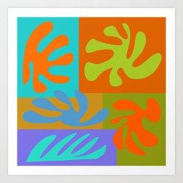 Cutout Collage 5 Art Print