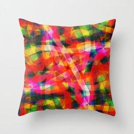 Abstract XXXIII Throw Pillow