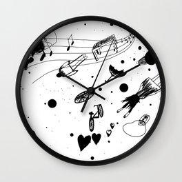 En el fin del mundo (At the end of the world) Wall Clock