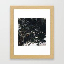 Light Structures in Casco Viejo Framed Art Print