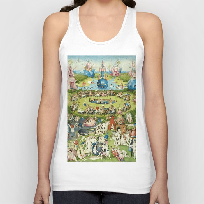 The Garden of Earthly Delights by Hieronymus Bosch Unisex Tank Top