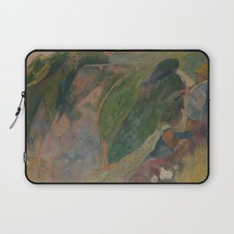 The Flageolet Player on the Cliff Laptop Sleeve