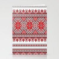 ukraine Stationery Cards featuring Ukraine-ornament 2 by  Nikolay Ampilogow