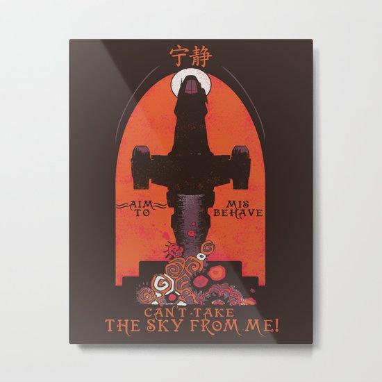 Browncoat Propaganda Metal Print