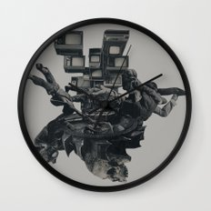 The Racist Undercurrent Maintains Paranoia Wall Clock