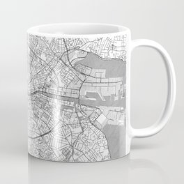 Dublin Map Line Coffee Mug