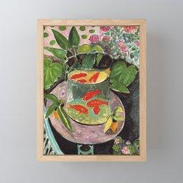 Henri Matisse Goldfish 1911, Goldfishes Artwork, Men, Women, Youth Framed Mini Art Print