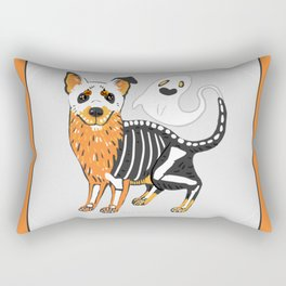 Halloween Dog  Rectangular Pillow