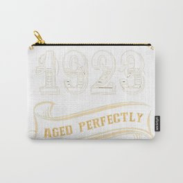 94th-Birthday-Gift-Gold-Vintage-1923-Aged-Perfectly Carry-All Pouch