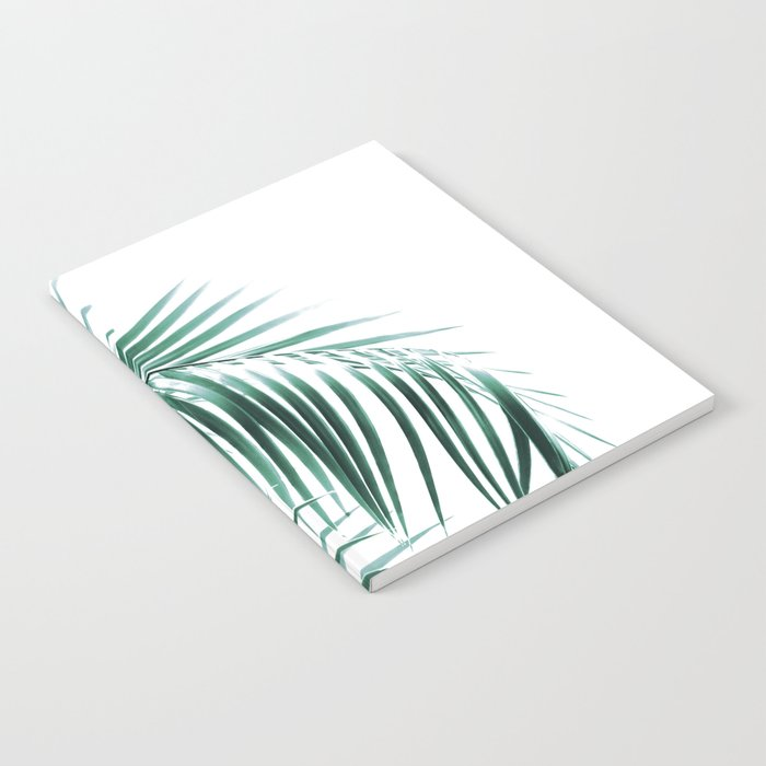 Palm Leaves Green Vibes #8 #tropical #decor #art #society6 Notebook
