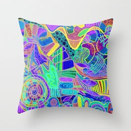 Series_One Throw Pillow