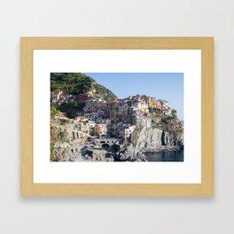 Manarola, Cinque Terre Italy Framed Art Print