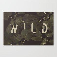 Wild I Canvas Print