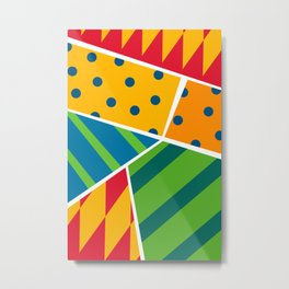 Party Poppers Metal Print