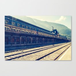 Canfranc Station Canvas Print