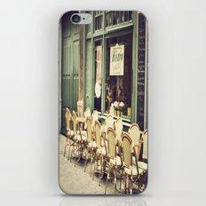 Le petit café iPhone & iPod Skin