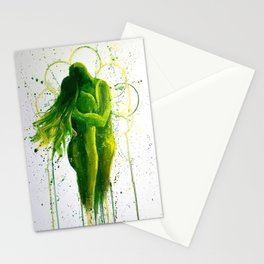 Love is a Verb Stationery Cards