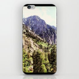 Mountains and Trees iPhone Skin
