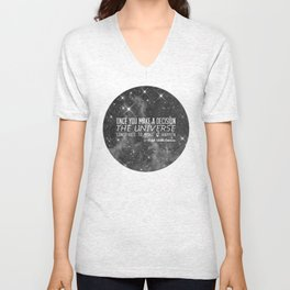 Put yourself out there Unisex V-Neck