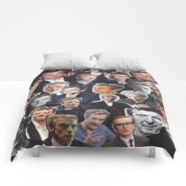 Peter Capaldi Collage Comforters