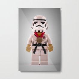 Imperial Judo Trooper Metal Print