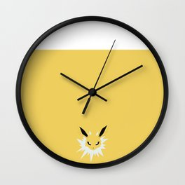 Jolteon Wall Clock