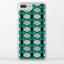 Geometrix 144 Clear iPhone Case
