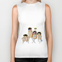 homestuck Biker Tanks featuring Homestuck: The Boxtrolls by Techno Cide