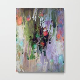Abstract Composition 418 Metal Print