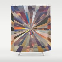 vertigo Shower Curtains featuring Vertigo by Whitney Bolin