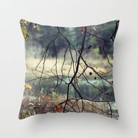 naked Throw Pillows featuring Naked by BURNEDINTOMYHE∆RT♥