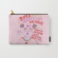 Super Sensitive Heroine Carry-All Pouch