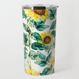 Sunflower Valley #society6 #decor #buyart #83oranges Travel Mug
