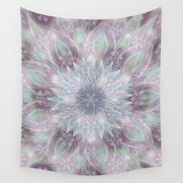 Lavender swirl pattern Wall Tapestry
