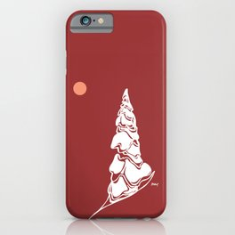 Giving Tree :: Single Line iPhone Case