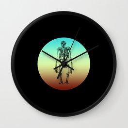 Classic Retro Design Ape Skeleton Wall Clock