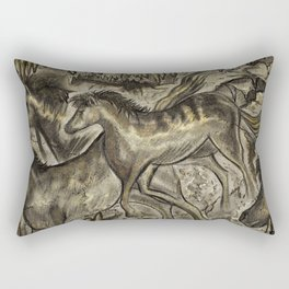Wild Horse Cavern Rectangular Pillow