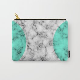 Marble Texture Abstract Carry-All Pouch