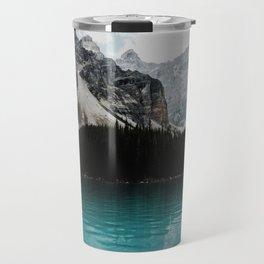 Lake Moraine, Banff National Park Travel Mug
