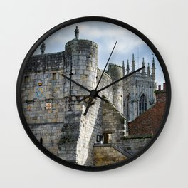 York Minster and Bootham Bar Wall Clock