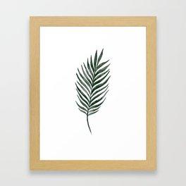 Palm Branch Art Framed Art Print