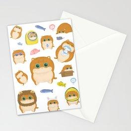Hosico Cat - White Stationery Cards
