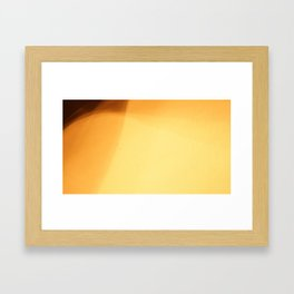 Milky Film Framed Art Print